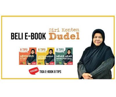 Ebook Dudel Bisnes Puan Ainon
