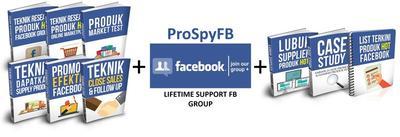 Tempahan ProSpyFB + Secret