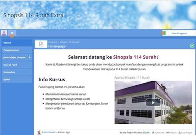 Pre-Launch - Sinopsis 114 Surah Extra - Program Online