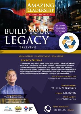 BUILD YOUR LEGACY (BYL) 2019 KELANTAN