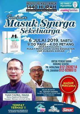 Masuk Syurga Sekeluarga Kelantan