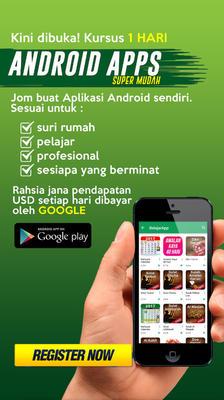 Bina Apps Android Sendiri - 1 hari