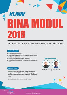 Klinik Bina Modul 2018