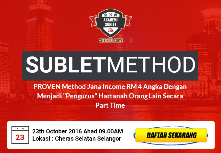 Program SubletMethod Oct 2016