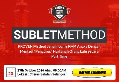 Program SubletMethod Oct 2016