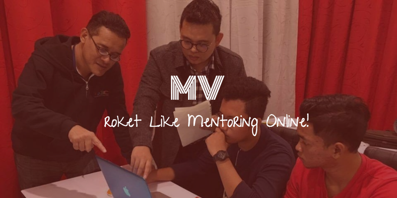 Roket Like Dengan Program Mentee Viral