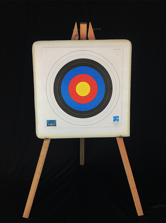 Self Healing Foam Archery Target Butt 50*50*10 with Wood Stand RM130