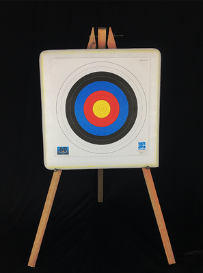 Self Healing Foam Archery Target Butt 50*50*10 with Wood Stand RM130