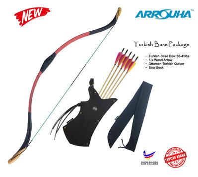 Pakej Busur Ottoman Turkish Spesial 30-45lbs RM645