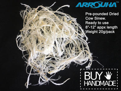 Dried Sinew For Archery Bow Making