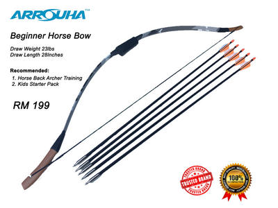 Pakej Beginner Horse Bow Special RM199 FREE SHIPPING!