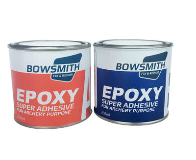 BowSmith™ is epoxy adhesive for bow making