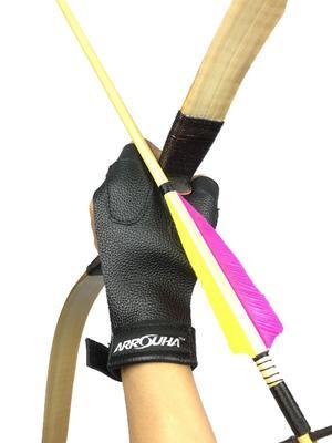 High Quality Leather Hand Glove Arrow Protector RM45