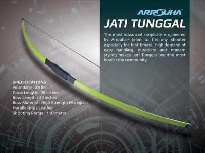 Busur Jati Tunggal RM170 PROMO NOW!!