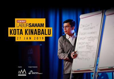 Seminar Labur Saham 2019 @ Kota Kinabalu