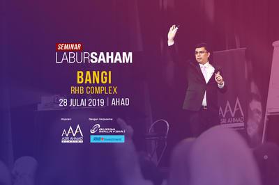 Seminar Labur Saham 2019 @ RHB Bangi
