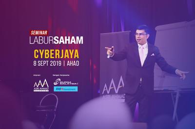 Seminar Labur Saham 2019 @ Cyberjaya