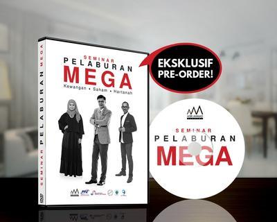 Pre-Order DVD Rakaman Seminar Pelaburan Mega (Putrajaya) 2017