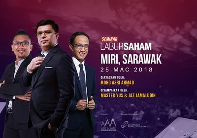 Seminar Labur Saham 2018 @Miri