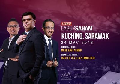 Seminar Labur Saham 2018 @Kuching