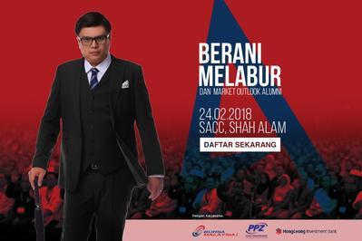 Seminar Berani Melabur & Market Outlook Alumni 2018 @ SACC, Shah Alam