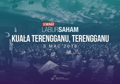 Seminar Labur Saham 2018 @Kuala Terengganu