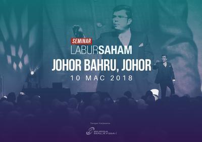 Seminar Labur Saham 2018 @Johor Bahru