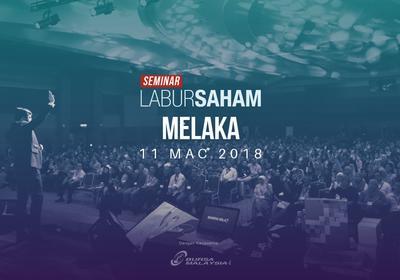 Seminar Labur Saham 2018 @Melaka