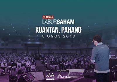 Seminar Labur Saham 2018 @ Kuantan
