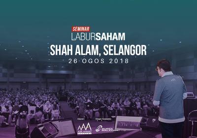 Seminar Labur Saham 2018 @ Shah Alam
