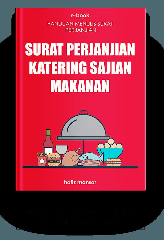 Ebook Surat Perjanjian Katering Sajian Makanan