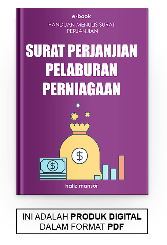 Ebook Surat Perjanjian Pelaburan Perniagaan