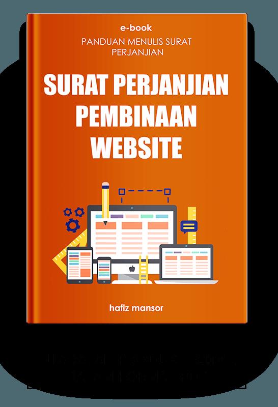 Ebook Surat Perjanjian Pembinaan Website