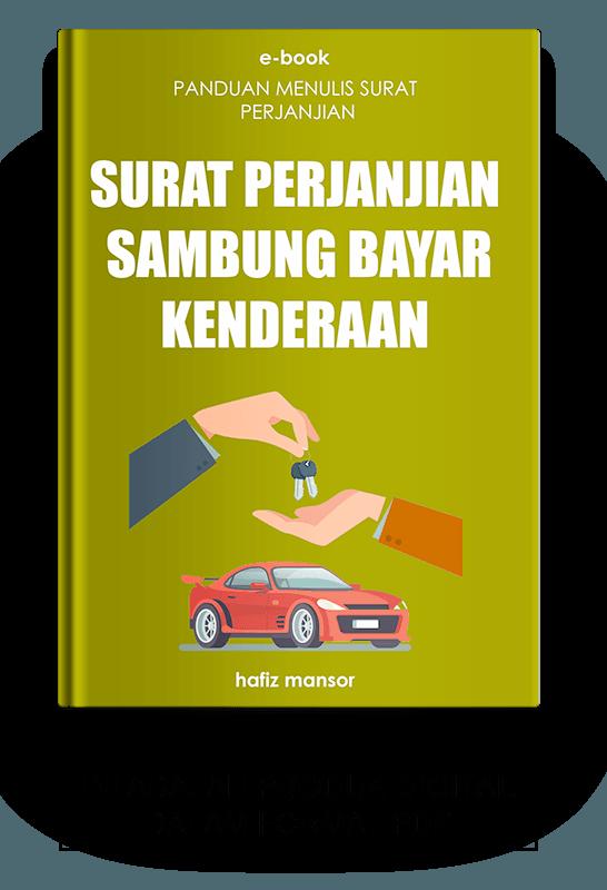Ebook Surat Perjanjian Sambung Bayar Kenderaan