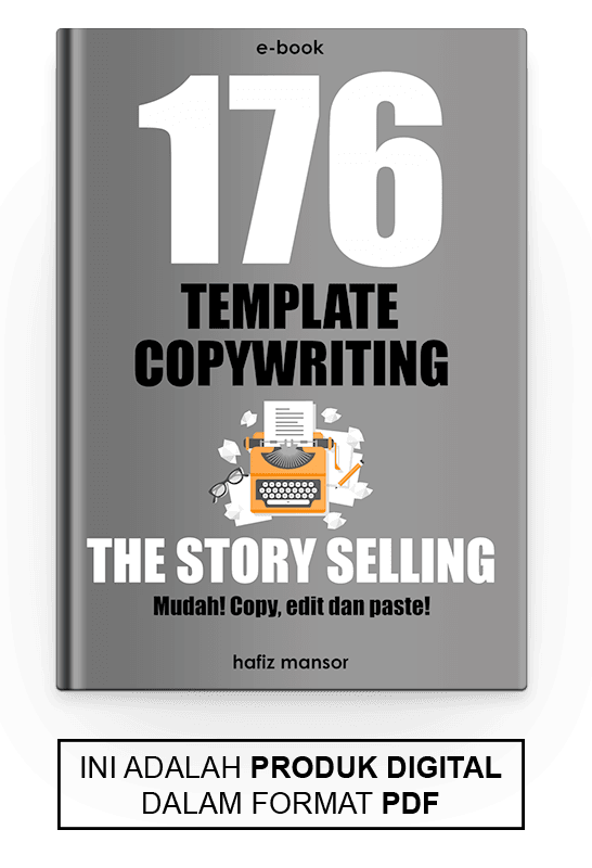 176 Template Copywriting The Story Selling