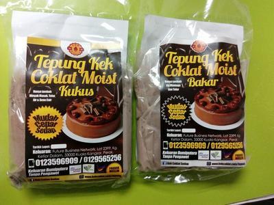 Tepung Kek Coklat Moist Segera