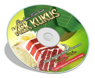 Tempahan CD Kek Kukus