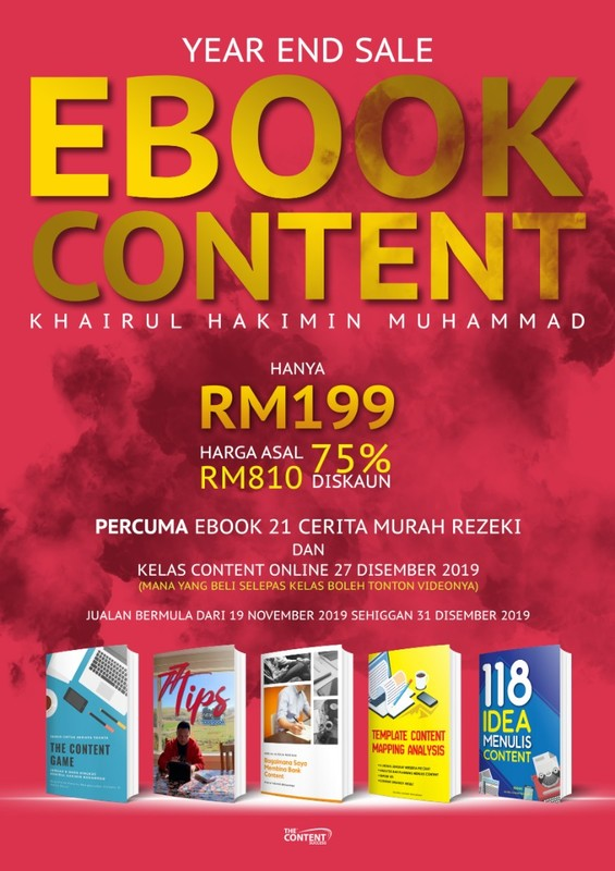 YEAR END SALE! KOMBO E-BOOK CONTENT