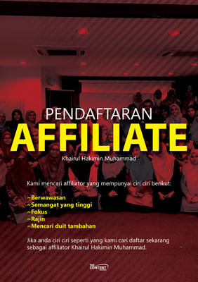 Pendaftaran Affiliate KHM