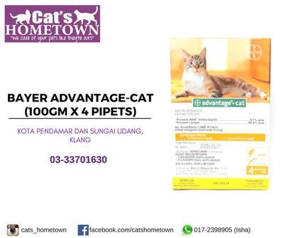 Borang Pesanan BAYER Advantage-Cat