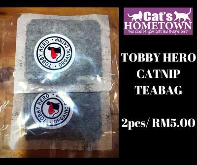 Borang Pesanan TOBBY Catnip Teabag