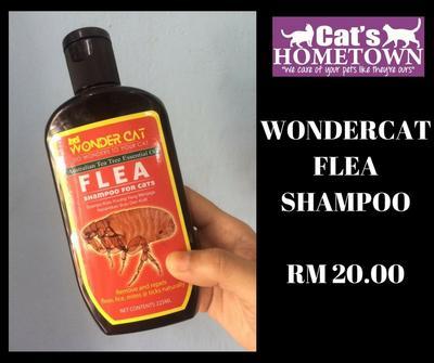 WONDER CAT Flea Shampoo 225ml