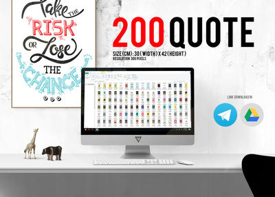 200 QUOTE POSTER