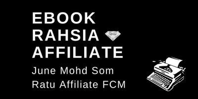 Ebook Rahsia Affiliate Untuk Newbie