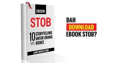 EBOOK STOB: 10 Tips Storytelling Untuk Orang Bisnes