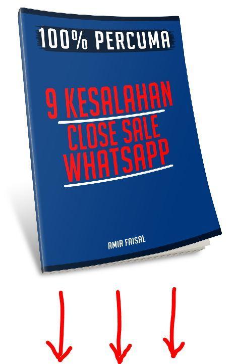 9 KESALAHAN CLOSE SALE WHATSAPP
