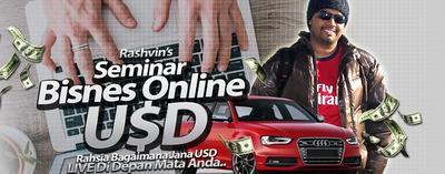 Seminar Bisnes Online USD