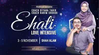 Pendaftaran Ehati Love Intensive 12.0