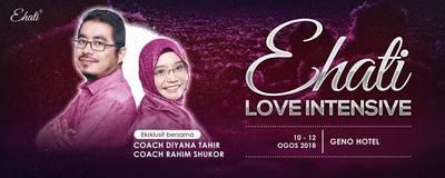 Pendaftaran Ehati Love Intensive 3.0