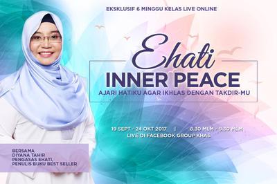 Ehati Inner Peace, Ajari Hatiku Agar Ikhlas dengan TakdirMu